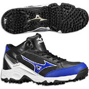 9-Spike Blast 3 Mid - Mens - Black/Royal
