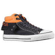 PC2 Quilt - Mens - Dark Navy/Orange/White