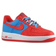 Air Force 1 Low - Mens - Photo Blue/Hyper Red