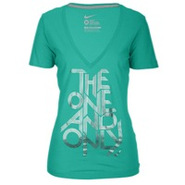 One & Only V-Neck T-Shirt - Womens - Atomic