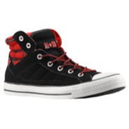 PC Advanced Plaid - Mens - Black/Varsity Red/Milk