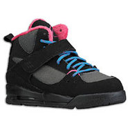 Flight 45 Trek - Girls Preschool - Black/Dark Grey