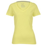 Classic Swoosh V-Neck T-Shirt - Womens - Yellow