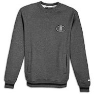 1919 Raglan 2 Tone Fleece Crew - Mens - Granite He