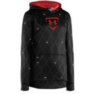 Cage to Game Hoodie - Boys Grade School - Black/Re