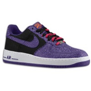 Air Force 1 Low - Mens - Black/Court Purple
