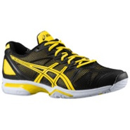 Gel Solution Speed - Mens - Black/Flash Yellow/Lig
