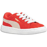 Suede Classic - Boys Toddler - High Risk Red/White
