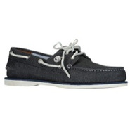 Classic 2-Eye Boat Shoe - Mens - Blue Canvas