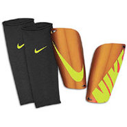 Mercurial Lite Shinguard - Orange/Volt