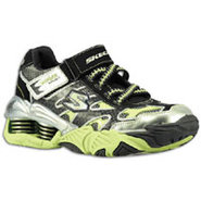 Pistonz - Boys Preschool - Black/Silver/Lime