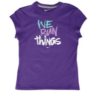 We Run Things S/S T-Shirt - Girls Grade School - U