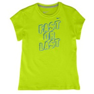 Fast Or Last S/S T-Shirt - Girls Grade School - Cy