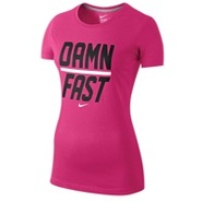 Damn Fast Short Sleeve T-Shirt - Womens - Pink For