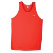 Jersey Muscle T-Shirt - Mens - Crimson