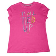 All Tied UP S/S T-Shirt - Girls Grade School - Fus