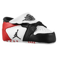 1st Crib - Boys Infant - White/Gym Red/Black