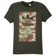 Camo Label Short Sleeve T-Shirt - Mens - Earth Gre