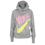 Light Weight Pullover Hoodie - Womens - Grey Heath