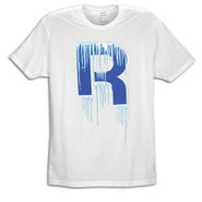Ice Drop R Short Sleeve T-Shirt - Mens - White