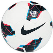 Strike PL Soccer Ball - White/Blue
