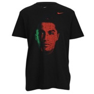 Ronaldo Hero T-Shirt - Mens - Black