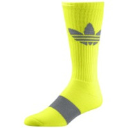 Light Trefoil Crew Sock - Mens - Electricity/Tech