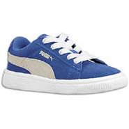 Suede Classic - Boys Toddler - Snorkel Blue/White