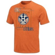 Houston Astros Majestic Cooperstown Baseball T-Shi