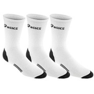 Hydrology Crew Sock 3-Pack - White/Grey