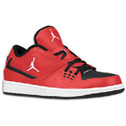 1 Flight Low - Mens - Gym Red/White/Black