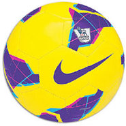 Strike PL HI-VIS Soccer Ball - Yellow/Purple/Black