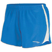 Run LUX II Short - Womens - Blue Crush/White