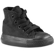 All Star Hi - Boys Toddler - Black Monochrome