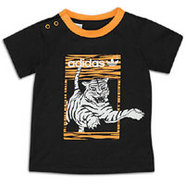 Animal Graphic T-Shirt - Boys Infant - Black/Joy O