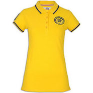 Crested Polo - Womens - Yellow