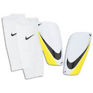 Mercurial Lite Shinguard - White/Yellow/Black