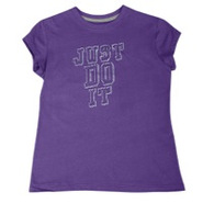 JDI S/S T-Shirt - Girls Grade School - Ultraviolet