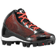 Yard Mid RM - Boys Grade School - Black/Red