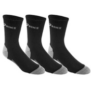 Hydrology Crew Sock 3-Pack - Black/Grey