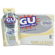 GU Energy Gel 8 Pack - Vanilla Bean
