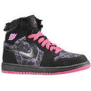 Retro 1 High Premium - Girls Preschool - Black/Dyn
