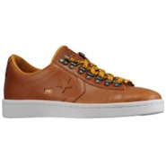Star Player Lo Leather - Mens - Metallic Gold