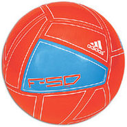 F50 X-ITE Soccer Ball - Infrared/Bright Blue/White