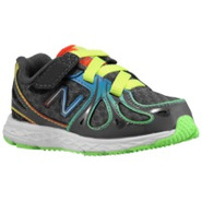 890 V3 - Boys Toddler - Black/Rainbow