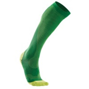 Performance Compression Run Sock - Mens - Fern Gre