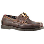 Kia Wah Bay Handsewn Boat - Mens - Brown