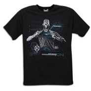 Graphic T-Shirt - Mens - Black/Teal/Grey
