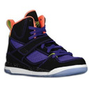 Flight 45 High - Boys Preschool - Black/Atomic Gre