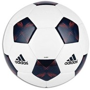11Pro Glider Soccer Ball - White/Sub Blue/Pop